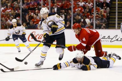 Buffalo will look to keep the hot streak alive as they venture to Joe Louis Arena for a Tuesday night matchup against the Detroit Red Wings [Photo Credit: Rick Osentoski - USA TODAY Sports]