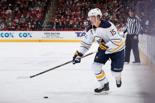 Who cares if he hasn't played yet this year? I'm still very much thankful for Jack Eichel. (Getty Images)