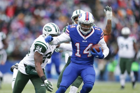 Sammy Watkins was a one man offensive show helping the Bills spoil the Jets playoff chances. (Getty Images)