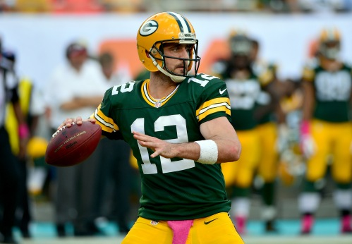 Aaron Rodgers has his number one target back is ready unleash on the NFL once again. (Getty Images)
