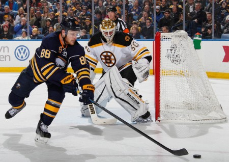 McGinn has been a positive surprise for the Sabres this season. (Getty Images)