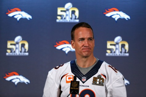 Manning controls his destiny one last time. (Getty Images)