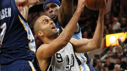 The Grizzlies had no match for Tony Parker, or anyone really, in Game 1. (Getty Images)
