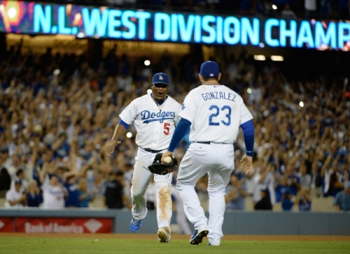 The Dodgers won the division last year. Can they repeat and make the next step this season? (Getty Images)