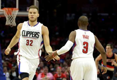 The return of Blake Griffin to his old self should have Portland fans worried. (Getty Images)