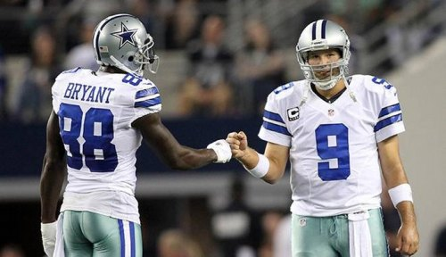 The Cowboys will go as far as Tony Romo's collarbone and Dez Bryant's foot takes them. (Getty Images)