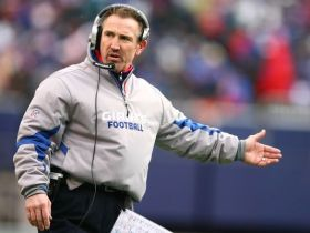 Steve Spagnuolo's 2nd year back with the Giants has fans hoping the defense is on the upswing. (Getty Images)