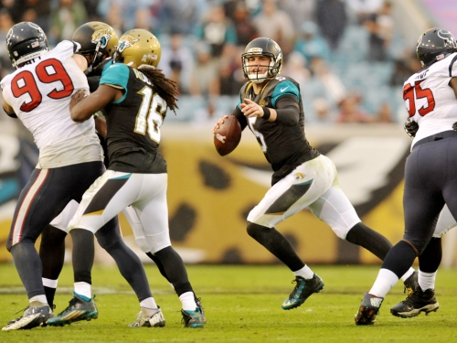 Can Blake Bortles and the Jags play spoiler? (Getty Images)