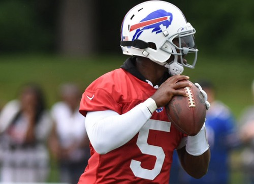 The Bills 2016 season will not be defined by a loud offseason but by how well Tyrod Taylor plays in his second year in Buffalo. (Getty Images)