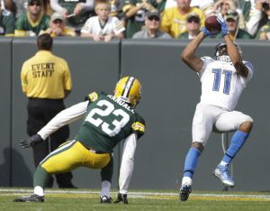 Marvin Jones is already having a big impact in Detroit. (Getty Images)