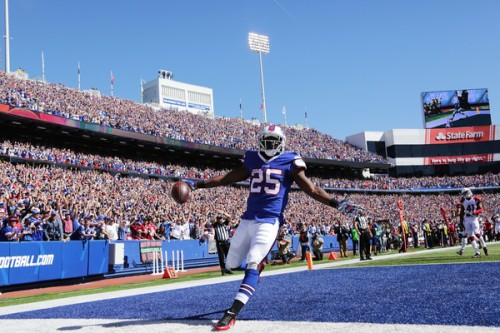 LeSean McCoy was dominant Sunday against Arizona. (Getty Images)