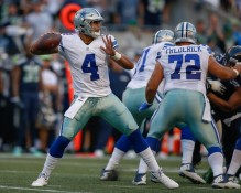Dak Prescott has been nothing but the real deal so far. (Getty Images)