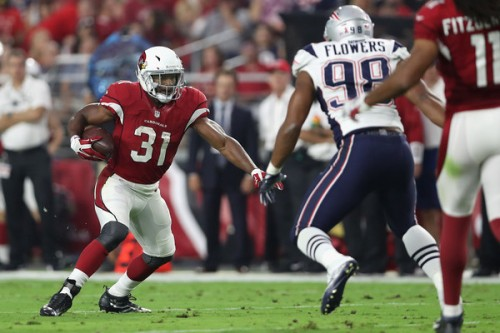 David Johnson should see an increase in touches this, he could take your lineup over the top. (Getty Images)