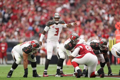 Jameis Winston has a great matchup and is one of the best value plays on DraftKings. (Getty Images)