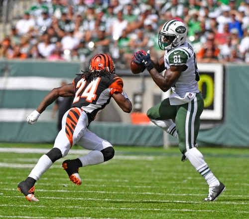 Who the hell is Quincy Enunwa? Your DraftKings lineup needs to find out.