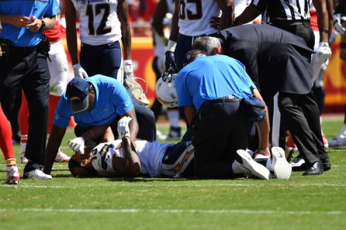 The loss of Keenan Allen leaves the Chargers facing uncertainty. (Getty Images)