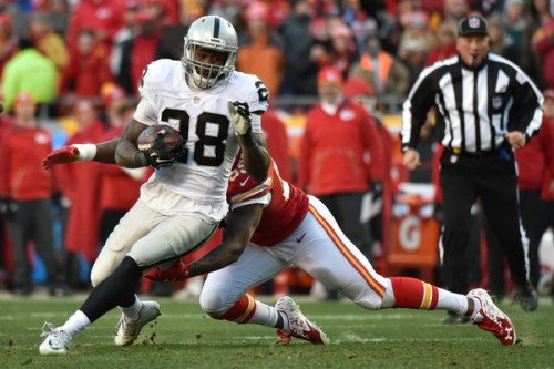 Latavius Murray could be a great value for your Week 8 DraftKings lineup. (Getty Images)