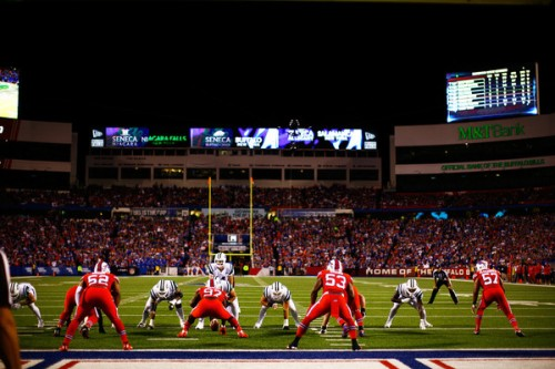 The Bills must take advantage of the 12th Man to have a shot of taking down Arizona. (Getty Images)