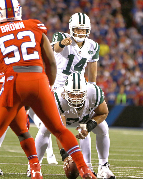 Once he settled in Ryan Fitzpatrick did anything he wanted to against the Bills defense. (Getty Images)