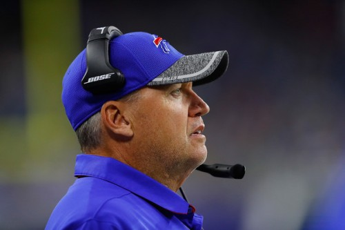 Rex Ryan constantly wrote checks his coaching couldn't cash. (Getty Images)
