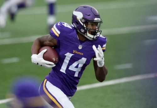 Stefon Diggs will look to repeat a stellar Week 2 performance as Minnesota takes on Carolina in one of the games of the week. (Getty Images)