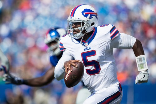 Tyrod Taylor returns to Baltimore as the Bills kickoff the 2016 season. (Getty Images)
