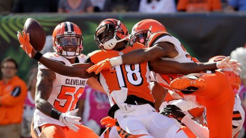 The first game on Sunday is also one of the best games of the week as AJ Green and the Bengals take on the Redskins in London. (Getty Images)