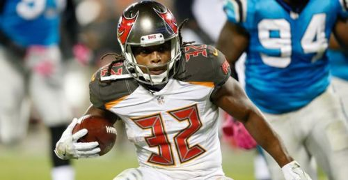 Jacquizz Rodgers has filled in admirably for Doug Martin in Tampa (Getty Images)