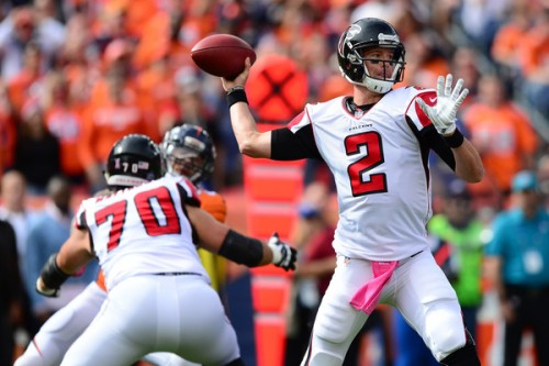Matt Ryan has been stellar through the first half of the season. (Getty Images)