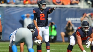 Brian Hoyer as filled in admirably for Jay Cutler. (Getty Images)