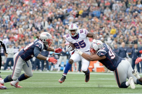LeSean McCoy is the Bills midseason MVP, when he's on the field. (Getty Images)