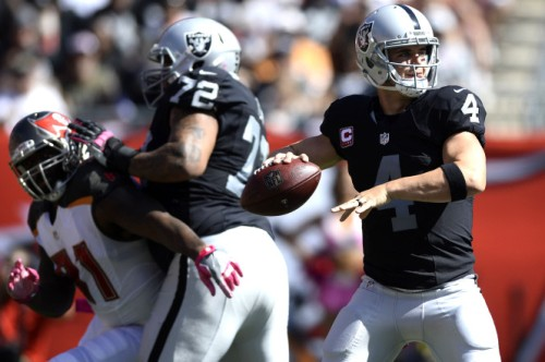 Derek Carr and the 6-2 Raiders are for real. (Getty Images)