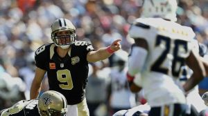 Drew Brees wins in his first game back in San Diego. Meanwhile the Chargers remain snakebitten. (Getty Images)