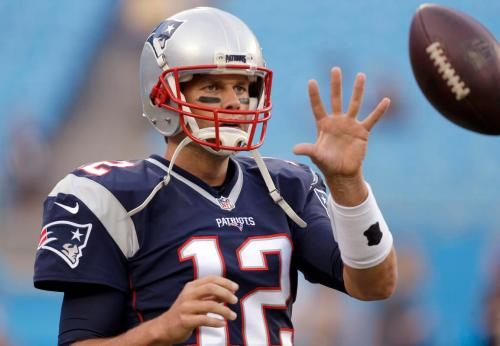 The return of Tom Brady is one of the top stories in the NFL this week. (Getty Images)