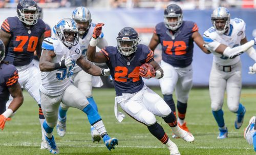 Jordan Howard is finally getting an opportunity and taking advantage of it. (Getty Images)