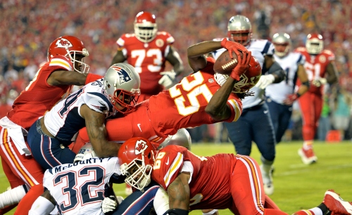 The Chiefs offense badly needs a spark from Jamaal Charles. (Getty Images)