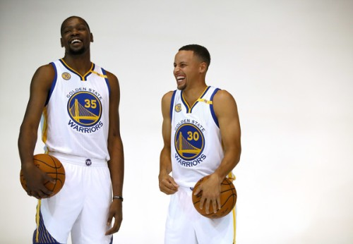 Kevin Durant and Steph Curry are going to laugh their way into history this season.