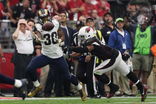 Todd Gurley has to get going for the Rams to have anything that resembles a functioning offense. (Getty Images)