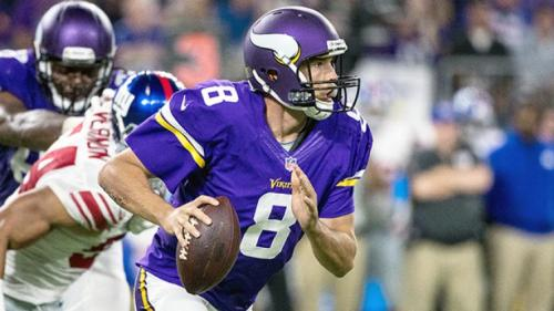 Sam Bradford has remade his career nicely in Minnesota. (Getty Images)