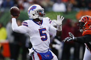 Tyrod Taylor is maddeningly inconsistent. (Getty Images)