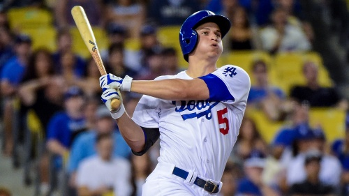 LA's Corey Seager had an incredible first season. (Getty Images)