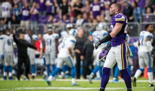 After a terrible loss to the Detroit marked their third straight defeat, the Vikings are wondering where they are going from here. (Getty Images)