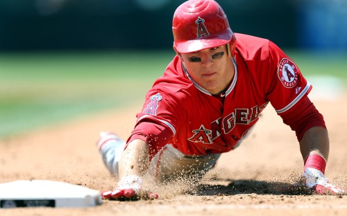 The Angels struggled this season but it sure as hell wasn't Mike Trout's fault. (Getty Images)