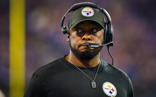 Mike Tomlin has to get the Steelers going or else his seat may begin to heat up. (Getty Images)