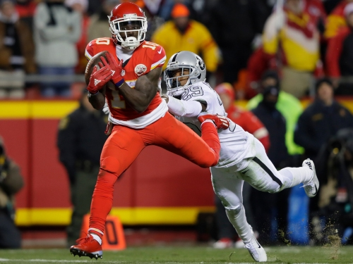 Tyreek Hill might be the dynamic component that can take Kansas City over the edge. (Getty Images)